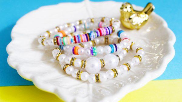 Pulseira da moda colorida
